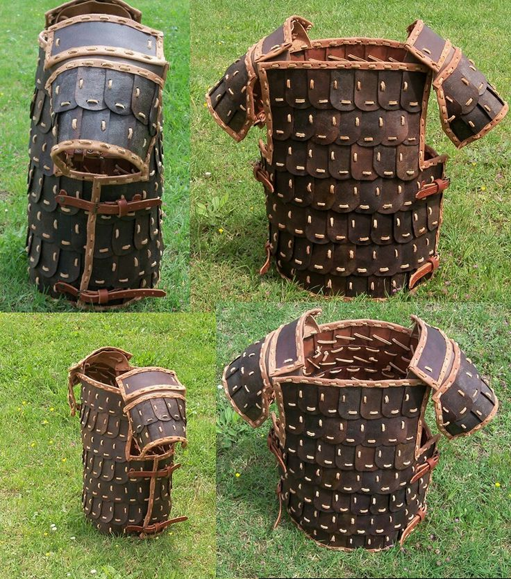 Viking armor lamellar scale armor Italian made
