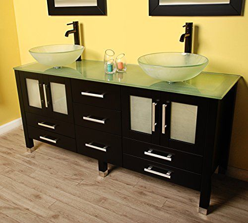Best Vanities Images On Pinterest Inch Vanity Bathroom - 63 inch double sink bathroom vanity for bathroom decor ideas