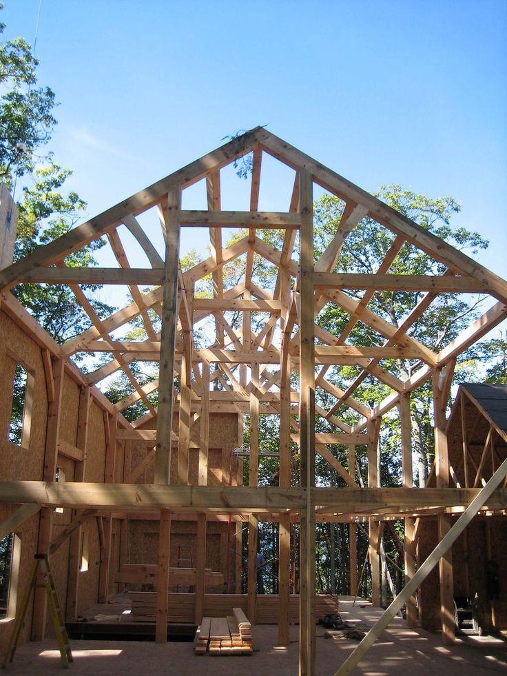 Best 21 Timber frames ideas on Pinterest | Timber frames, Wood ...