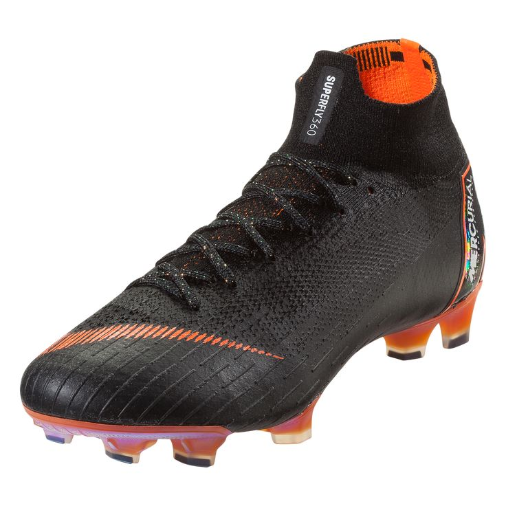 size 40 f6030 19a0e Nike Mercurial Superfly VI Elite FG Soccer Cleat BlackTotal  OrangeWhite-12  Products  Pinterest  Soccer Cleats, Cleats and Nike