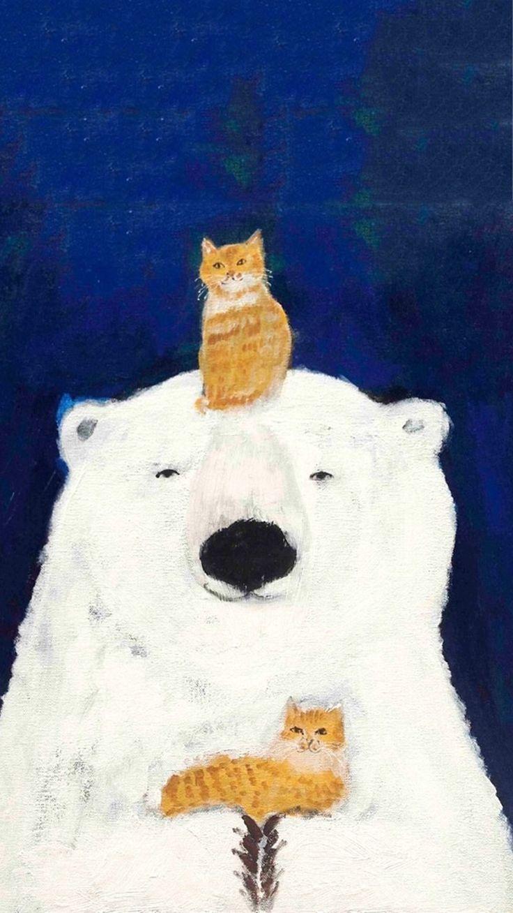 Картинки с кошками большие большой