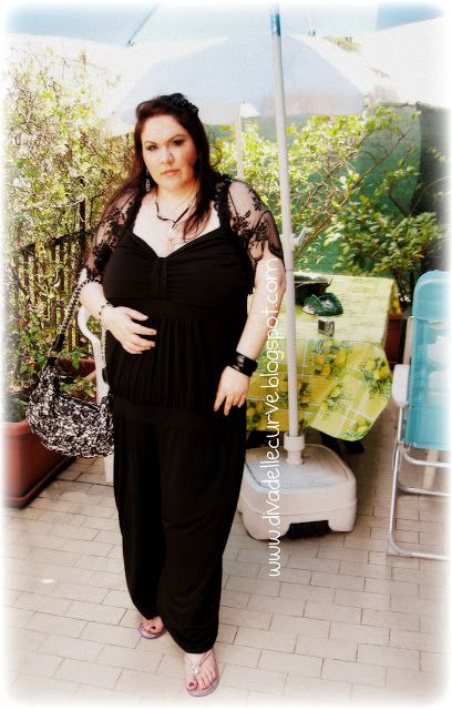 8 best images about plus size jumpsuits on pinterest qvc jumpsuits and total black - La diva delle curve ...