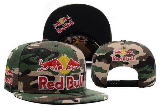 Red Bull Camo Snapback