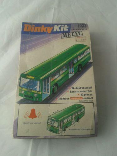 Die-cast-model-dinky-action-kits-vintage-original-single-decker-bus