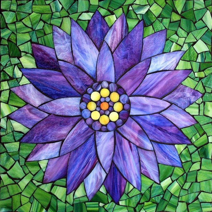 Kasia Mosaics: New Flower Designs for Upcoming Workshops