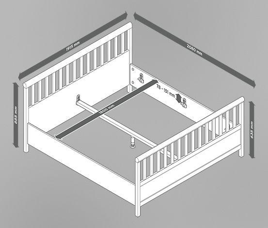 Doppelbett schlafzimmer pinterest ps for Doppelbett platzsparend