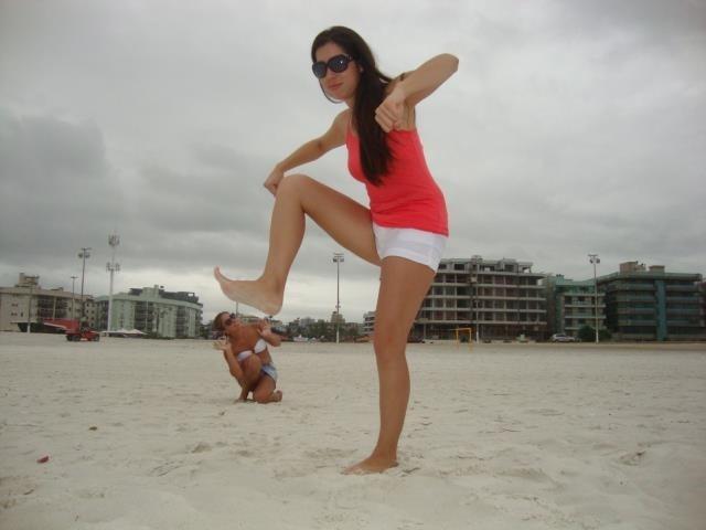 El verano es para pasarlo bien! Lara está participando con una divertida foto de sus vacaciones :)