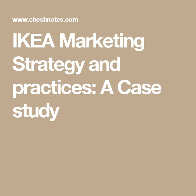ikea marketing strategy essay Ikea's global marketing strategy essay  abstract the ikea business idea is to offer a wide range of home furnishings with good design and function at prices so low that as many people as possible will be able to afford them - ikea's global marketing strategy essay introduction.