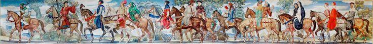 Il Manoscritto del Cavaliere: Il viaggio dei pellegrini di Geoffrey Chaucer