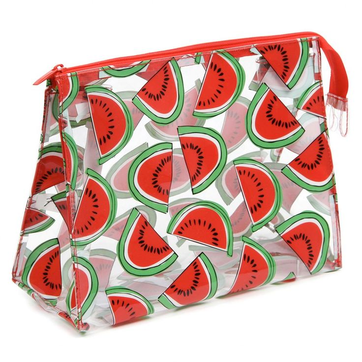 Mercato watermelon wash bag