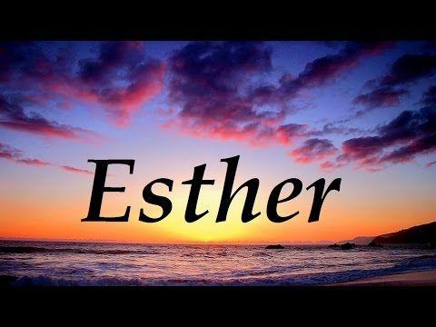 Significado del nombre Esther - ¿¿Te lo vas a perder??