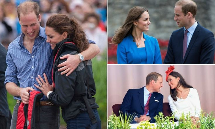 Prince Wiliam and Kate Middleton's most tender moments