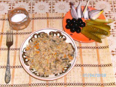 Каша «Монастырская» : Вегетарианская и постная кухня