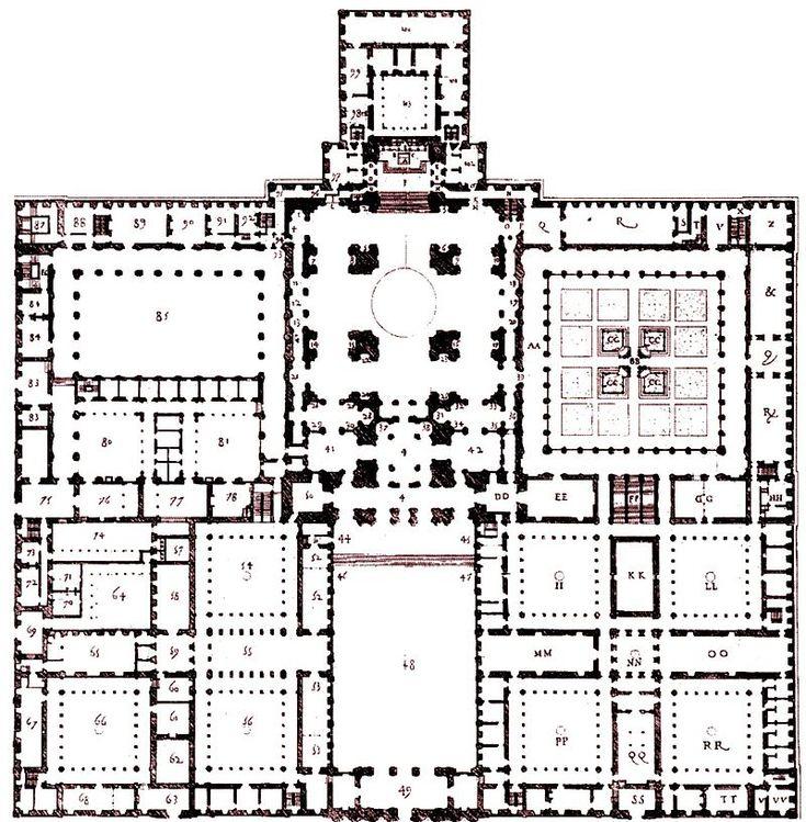«Traza Universal» de El Escorial - Monasterio de El Escorial