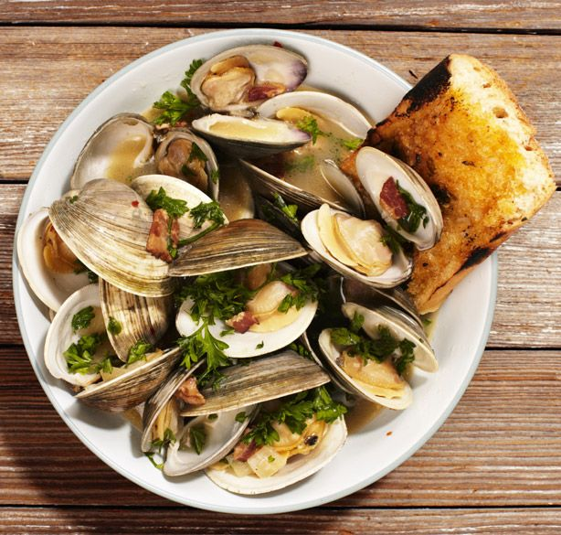 How to Make Clams Casino Stew:  sooo good.  Rivals that of Zydeco of Bend, OR for their clam appetizer, but add half and half.