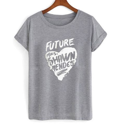 future mrs shawn mendes T shirt