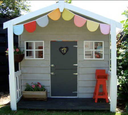 Aww I wanna wendy house for Kailee!!
