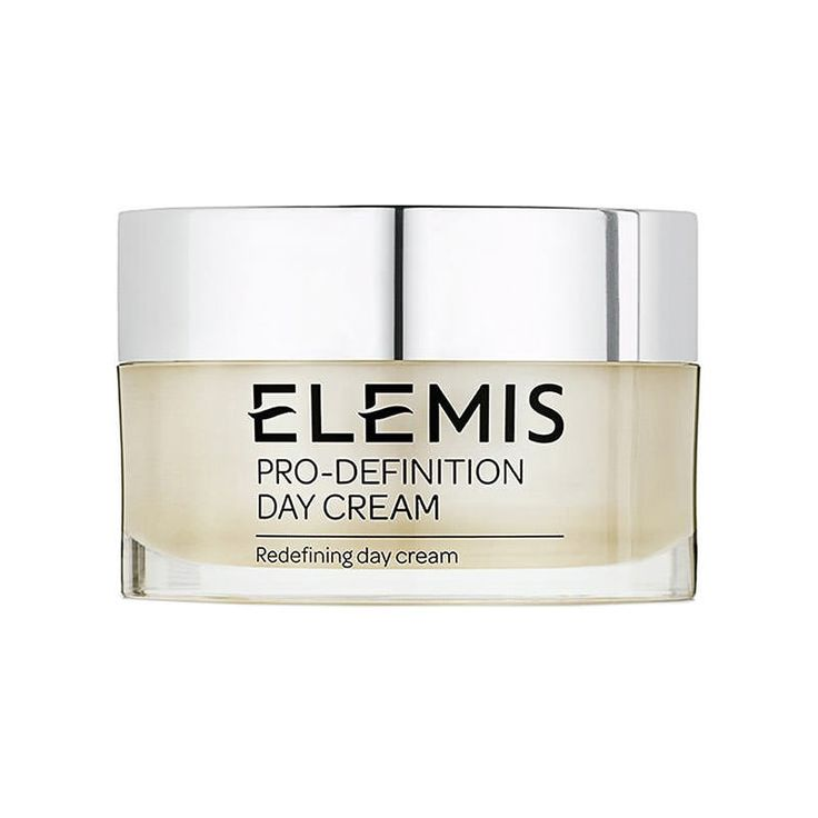 Elemis Pro Definition Day Cream 50ml 0060644 This firming day cream combines powerful, hi tech plant stem cells and Arjuna Bark extract to firm, plump and tighten, restoring the look of skins vitality. Moisturising and nourishing Starflower Oil  http://www.MightGet.com/may-2017-1/elemis-pro-definition-day-cream-50ml-0060644.asp