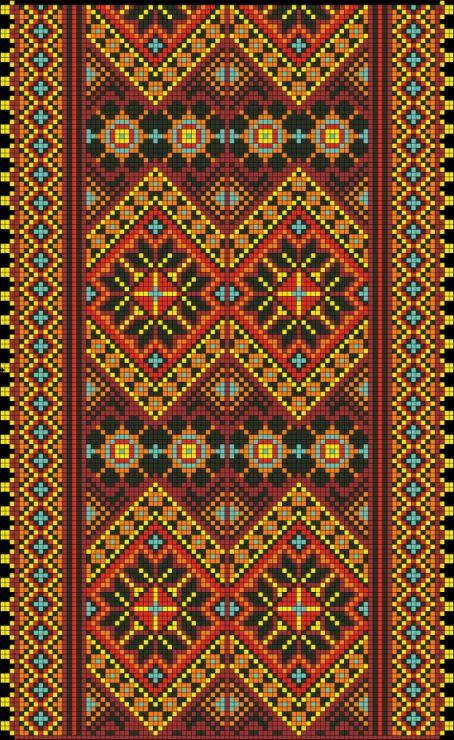 Gallery.ru / Фото #5 - ВЫшиванки, рушники - Sharadarada