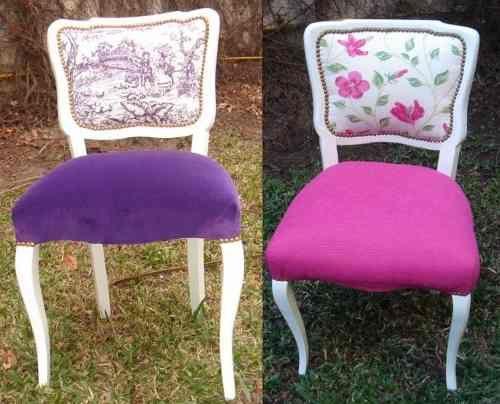17 mejores ideas sobre sillas restauradas en pinterest for Sillas antiguas tapizadas modernas