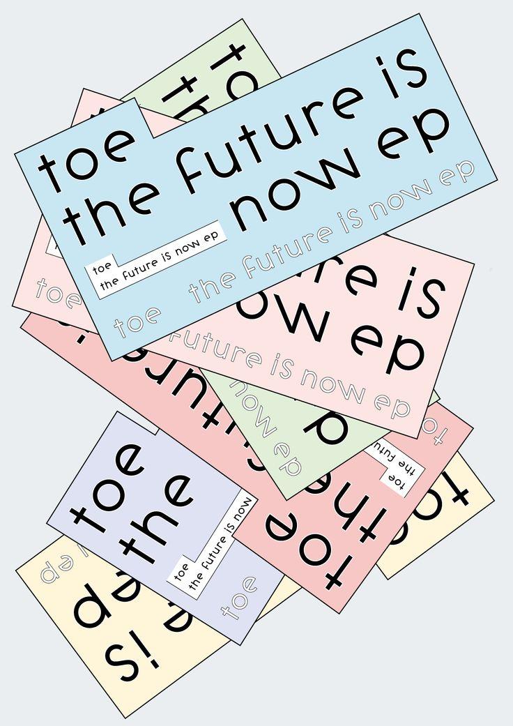 #26Design: Seita Kobayashitoe / The Future Is Now EP 最高です。