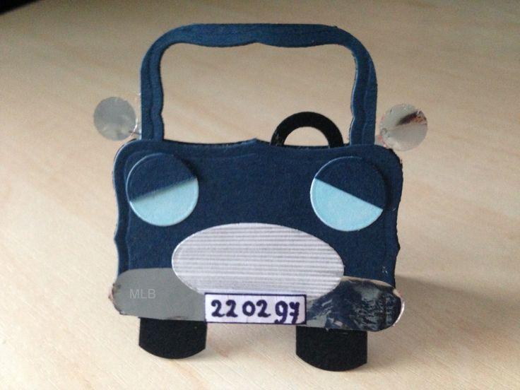Car for a giftbag