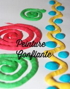 """Peinture gonflante (""""fait maison"""" ! )                                                                                                                                                     Plus"""