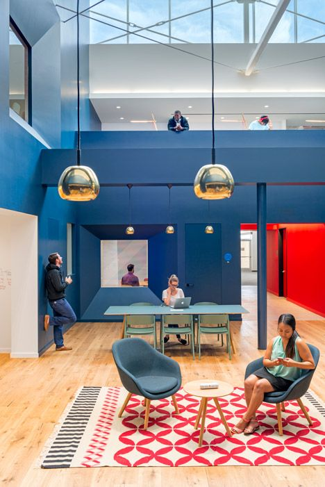 Los Angeles studio Bestor Architecture has completed a colourful new headquarters for Beats by Dre.