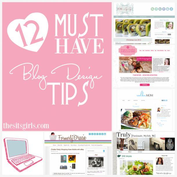 12 Must Have Blog Design Tips | Great Blog Design Starts Here