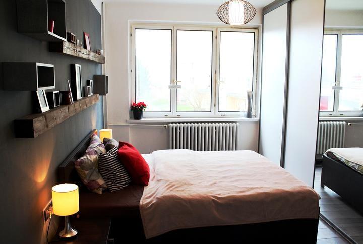 #idea #bedroom #grey #beam #cold #home #decoration