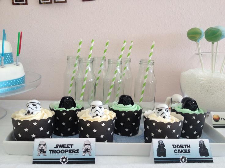 Sweet Troopers & Darth Cakes