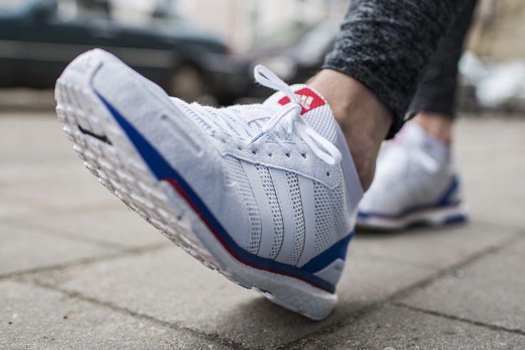 Model startowy Adidas Adizero Adios 3 to propozycja dla preferujących szybkie bieganie na dystansach od 5 km do maratonu🏃 Waga 230 g