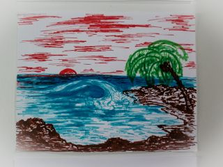 Our art gallery - patient's works | www.hawaiianrecovery.com | #addiction #recovery #drugrehab #alcoholabuse #hawaii