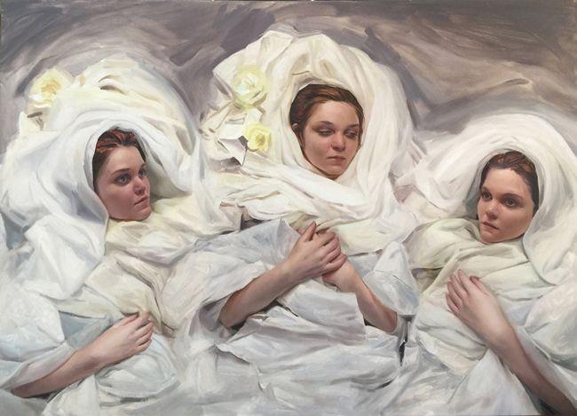 "Korin Faught: ""Lost Days"" @ Corey Helford Gallery - beautiful.bizarre"