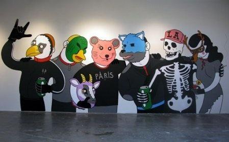 Honet. La street art underground che arriva direttamente dal sottosuolo. « streetaporter