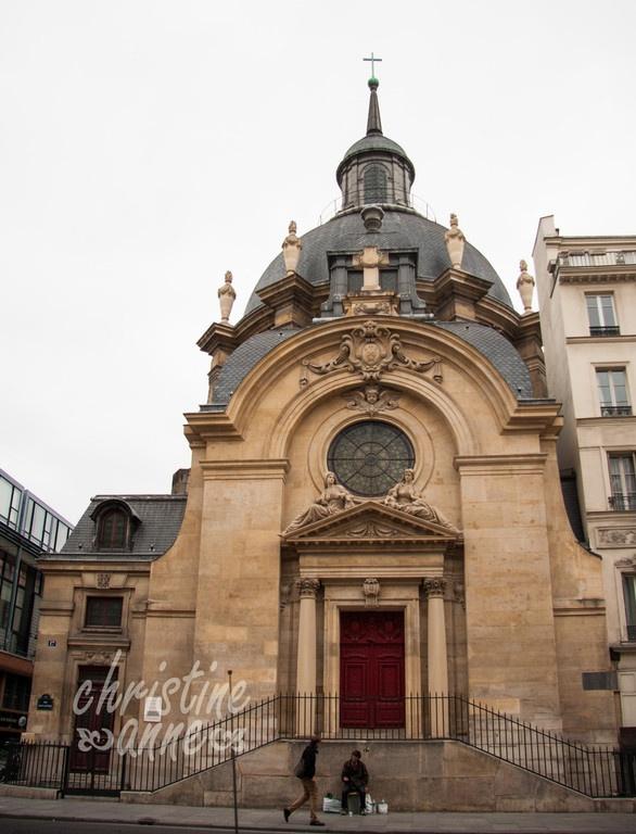 1627 glise st paul on rue saint antoine in le marais paris travel aka saint paul saint. Black Bedroom Furniture Sets. Home Design Ideas