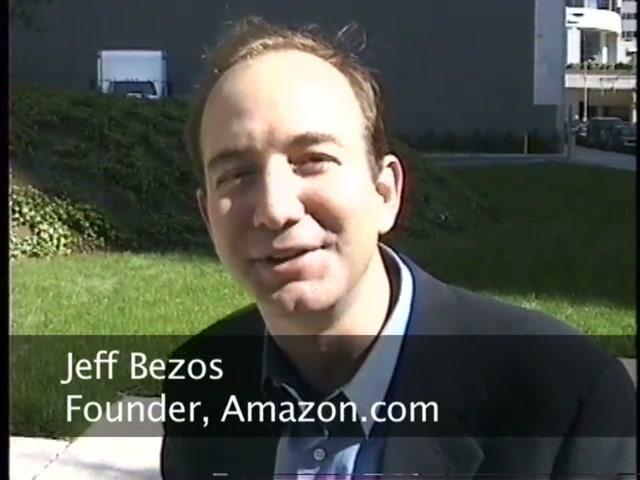 Internet Pioneers: Jeff Bezos - Founder of Amazon