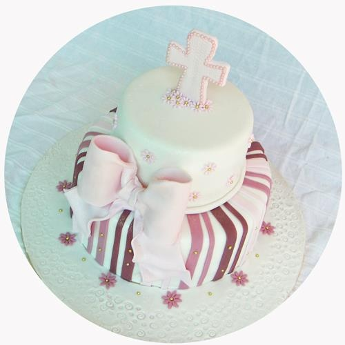 Baby Shower Cakes Pretoria ~ Christening cake for a girl i love the colors from