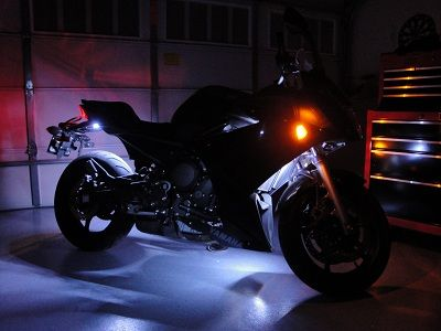 flexfire leds accent lighting bedroom. intense accent lighting placed on a motorcycle is highly functional and gives it modern vibe flexfire leds bedroom n