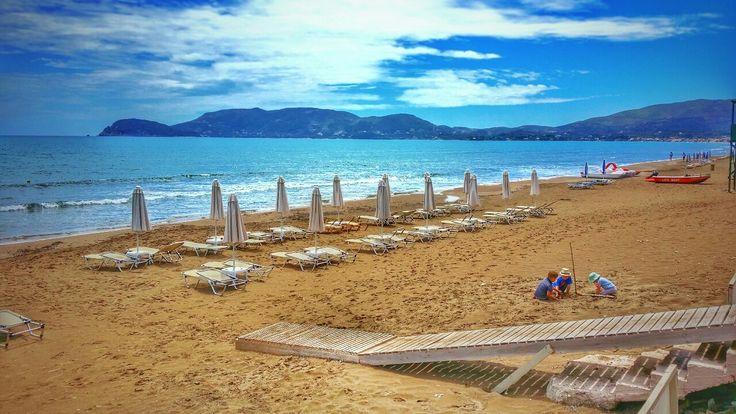 Kalamaki Beach on Zakynthos island Greece  Photography by Alistair Ford