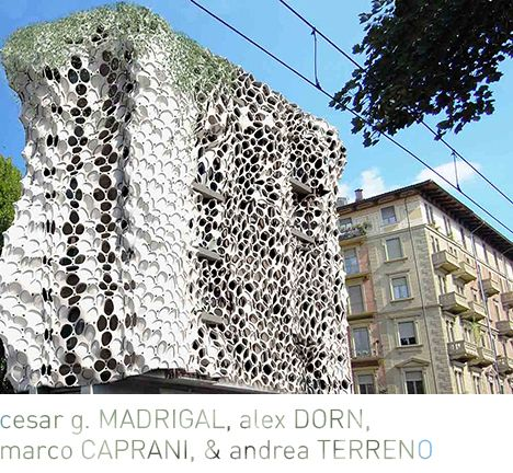 Parametric technology + the study of animal physiologies to create an intelligent skin; #biomimicry
