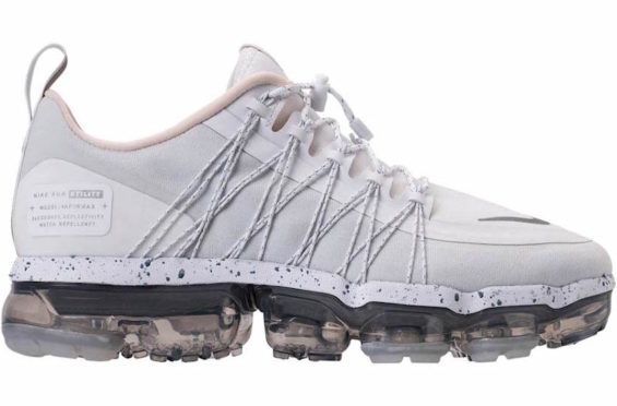 4c52a4a09b9d Release Date  Nike WMNS Air VaporMax Run Utility White Reflect Silver The  Air VaporMax tech