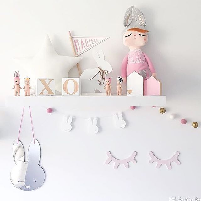 Gorgeous pink cuteness overload  love it all so many great IG stores shown here. Our Kanin dolls are back in mint and mini options. Lovely photo by @littlebambinobear