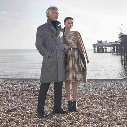 Your first look: Paul Weller keeps it in the family for Daks