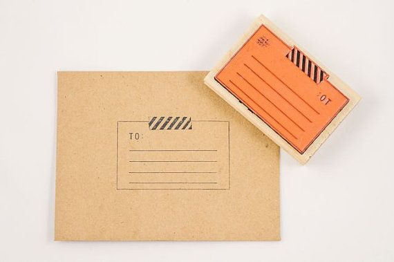 please deliver to tape stamp | by ampersandity #thoughtfulashell #socialpreparednesskit #eggpress