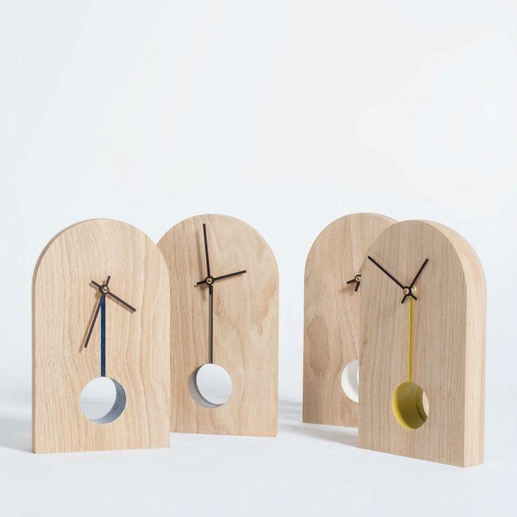 Horloge design de créateur #MadeinFrance