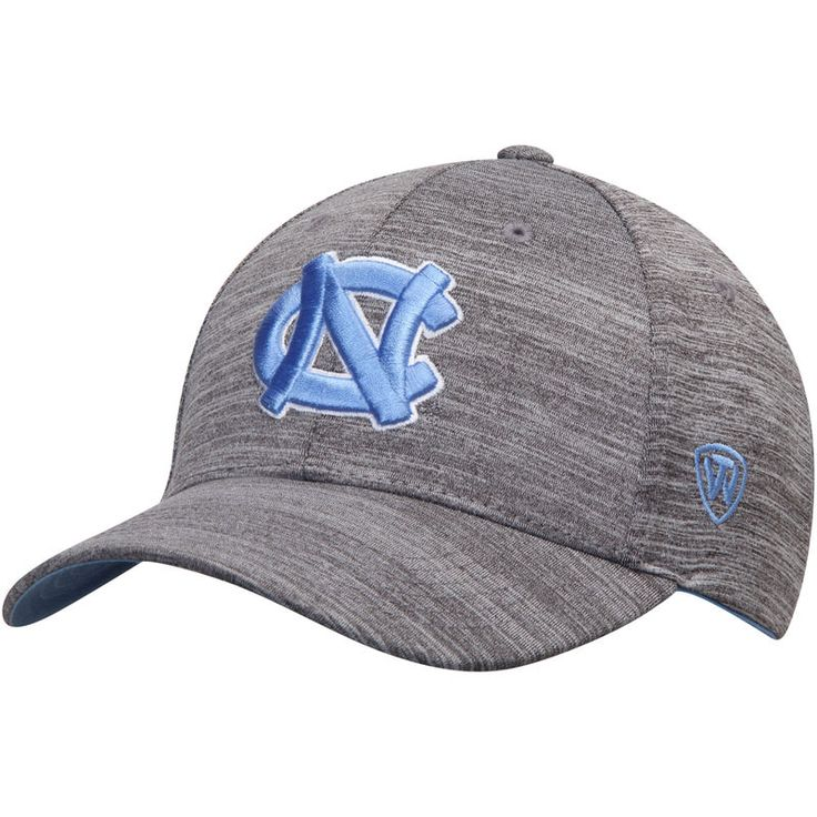 North Carolina Tar Heels Top of the World So Fresh Structured Adjustable Hat - Gray