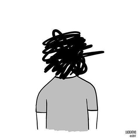 Yo. #FelizLunes   Por  @lucreativo  #pelaeldiente  #feliz #comic #caricatura #viñeta #graphicdesign #funny #art #ilustracion #dibujo #humor #sonrisa #creatividad #drawing #diseño #doodle #cartoon