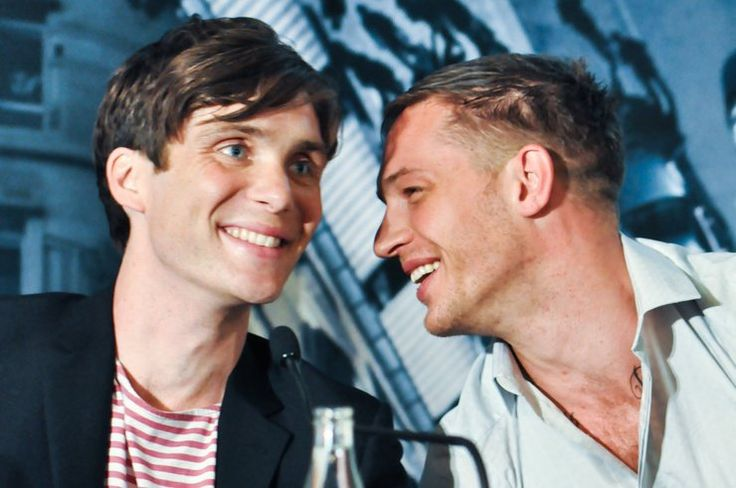 I'm so pumped for Dunkirk and new season of Peaky Blinders Cillian Murphy and Tom Hardy