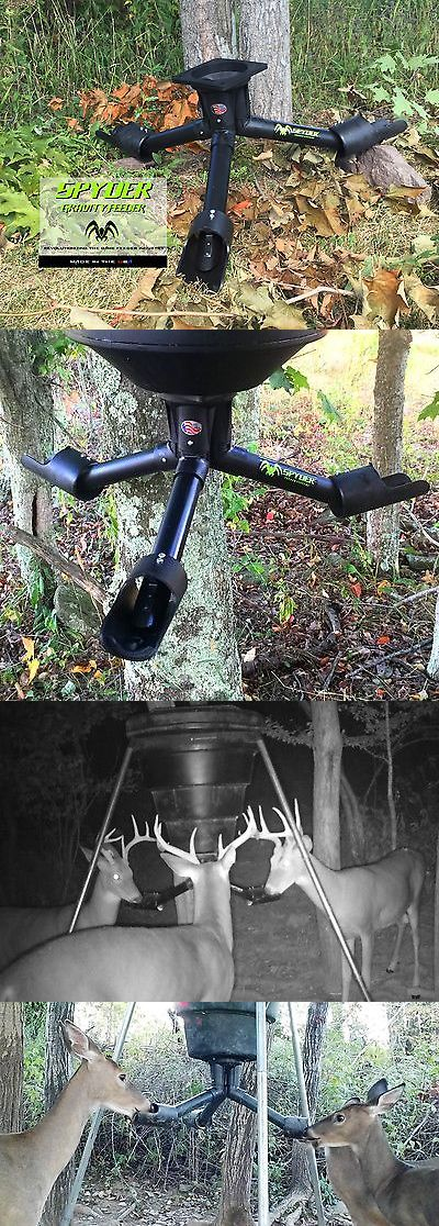 Game Feeders and Feed 52504: Spyder Deer And Wildlife Gravity Feeder Attachment BUY IT NOW ONLY: $99.0